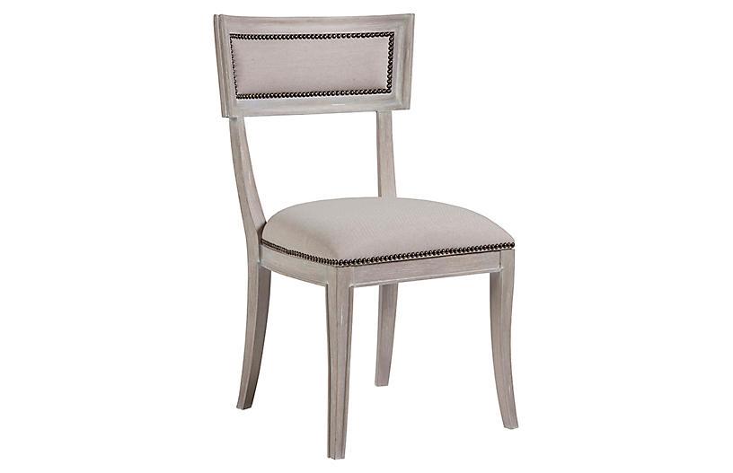 Apertif Side Chair, Bianco White