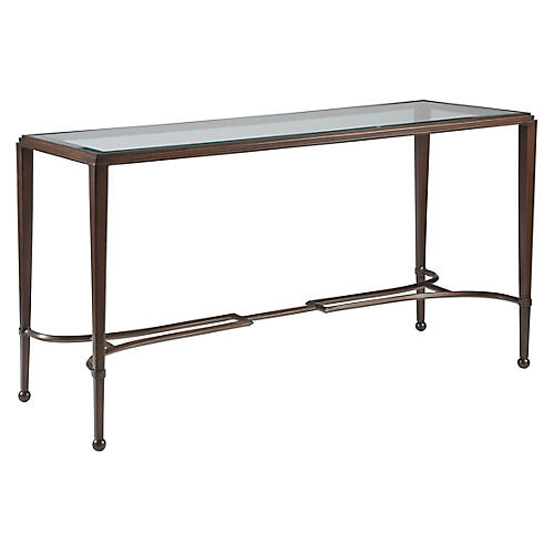 Sangiovese Console, Antiqued Copper