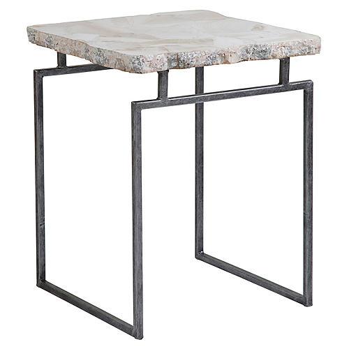 Gardner Side Table, White