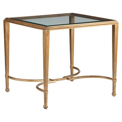 Sangiovese Side Table, Renaissance Gold