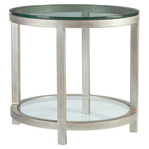 Per Se Side Table, Argento Silver