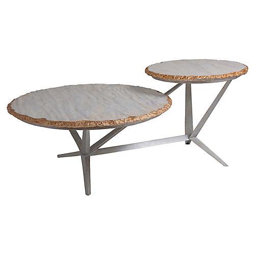 Cosmos Coffee Table, Gray