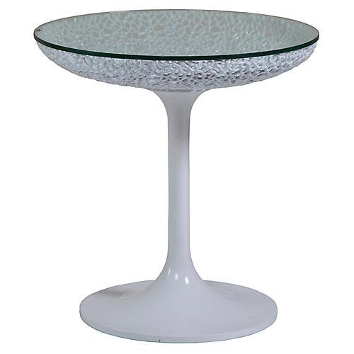 Seascape Side Table, White