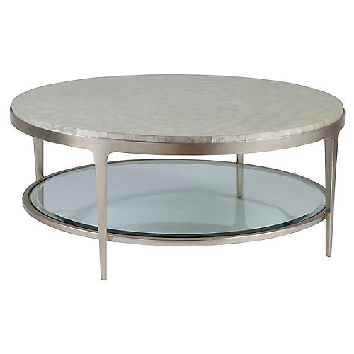 Gravitas Coffee Table, Champagne