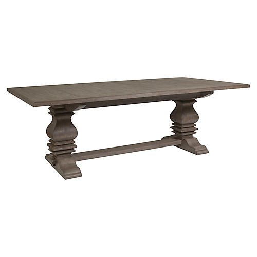 Axiom Rectangular Dining Table, Grigio Warm Gray