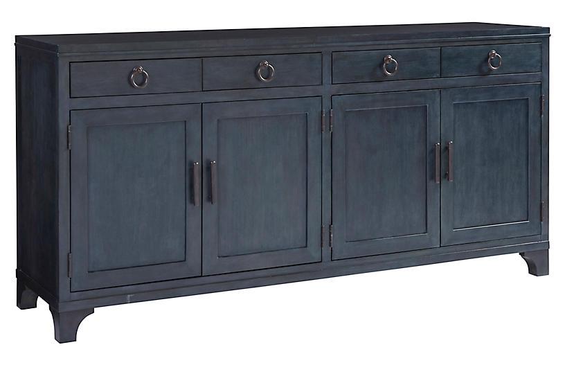 Bayside Sideboard, Marine Blue