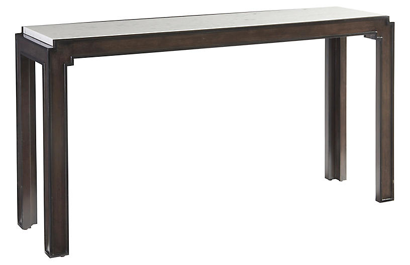 Doheny Console, Wilshire Brown