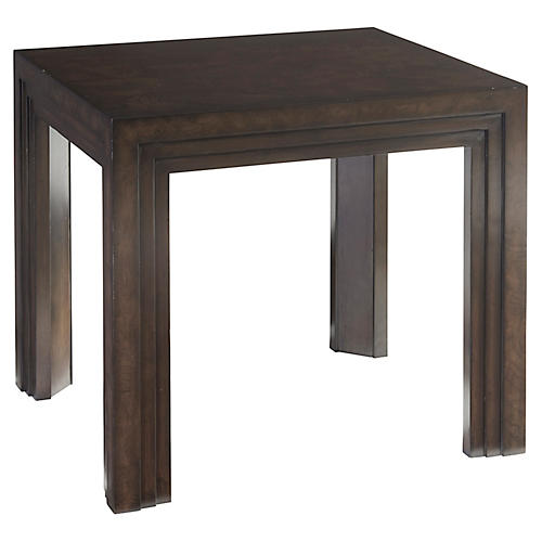 Essex Side Table, Wilshire Brown