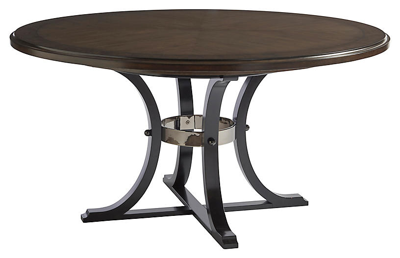 Layton Dining Table, Wilshire Brown