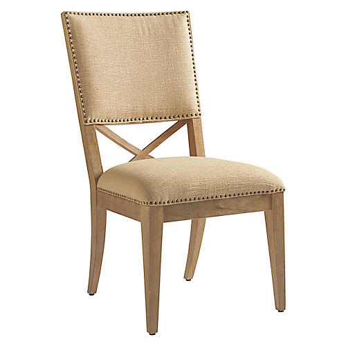 Alderman Side Chair, Taupe