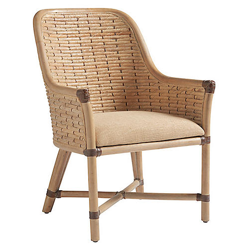 Keeling Woven Armchair, Natural
