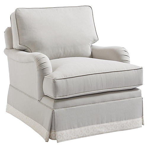 Blaire Club Chair, Gray