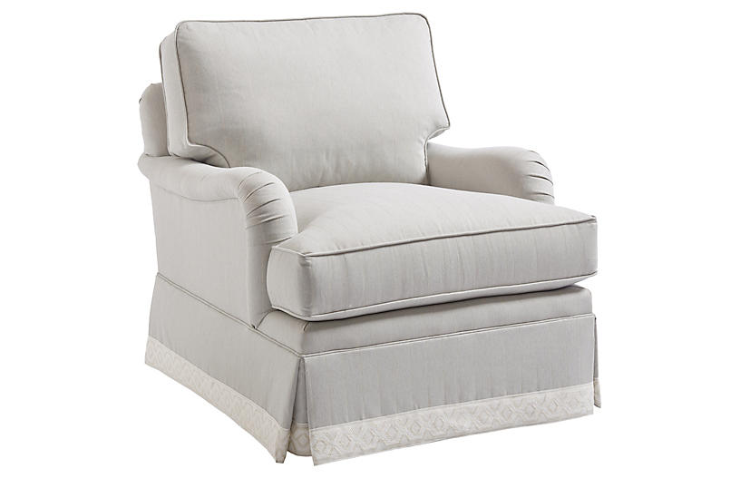 Blaire Club Chair, Gray