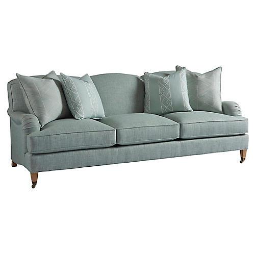 Sydney Sofa, Sea Glass