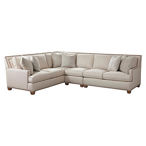 Morgan Sectional, Natural