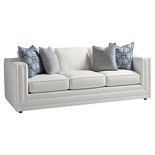 Mercer Sofa, White