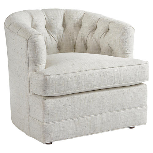 Cliffhaven Club Chair, Talc