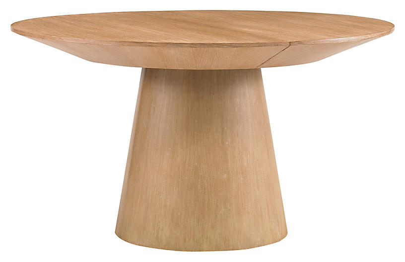 Discus Dining Table, Natural