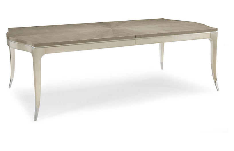 Nadette Dining Table, Taupe