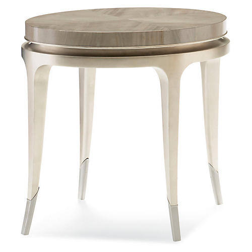 Jarita Side Table, Gray