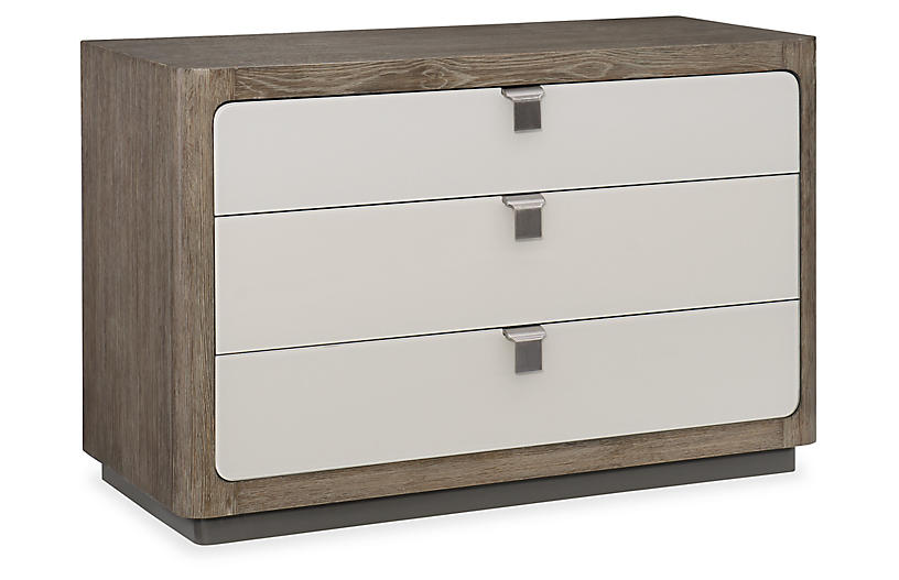 Fusion 3-Drawer Dresser, Ashen Oak