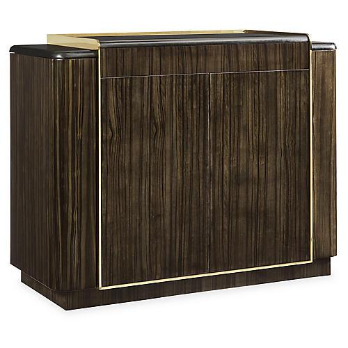 Cosmopolitan Bar Cabinet, Ebony