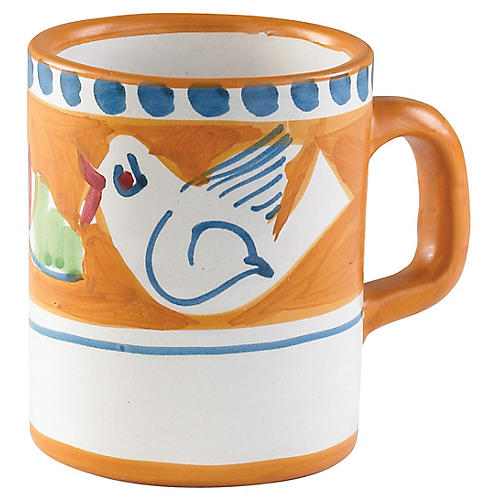 Uccello Mug, Orange