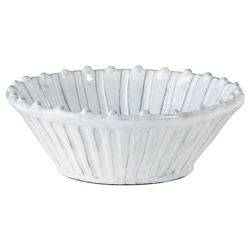 Incanto Stripe Cereal Bowl, White