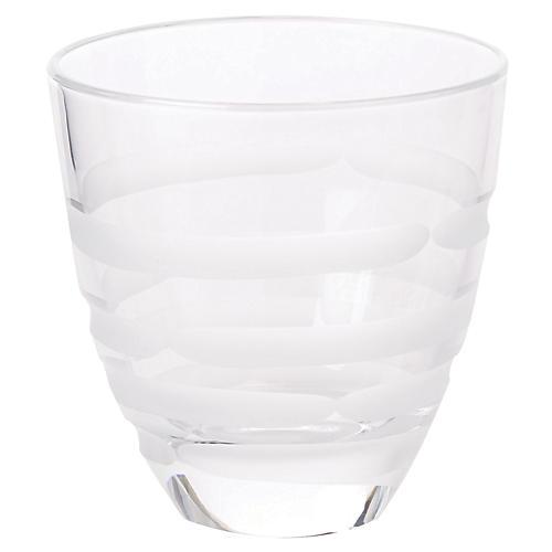 Optical Swirl DOF Glass, Clear