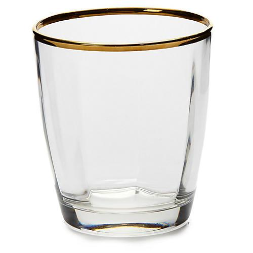 Optical DOF Glass, Clear/Gold