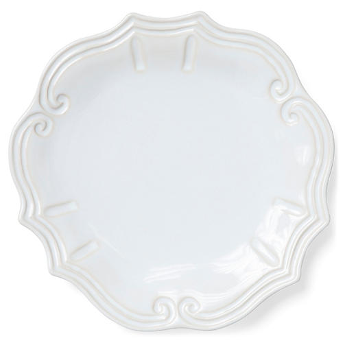 Incanto Stone Baroque Dinner Plate, Linen