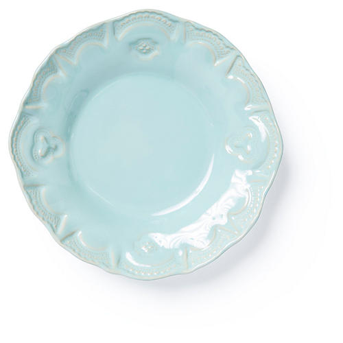Incanto Stone Lace Pasta Bowl, Aqua