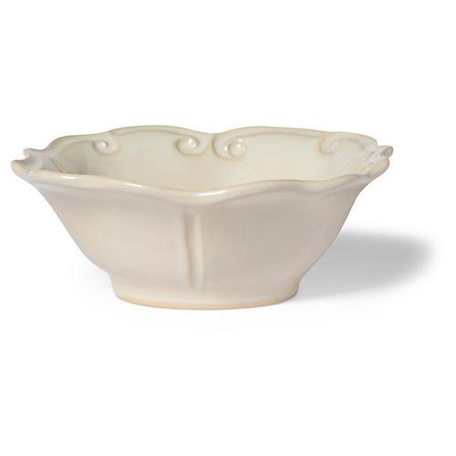 Incanto Stone Baroque Cereal Bowl, Linen