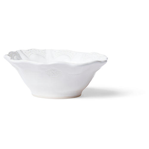 Incanto Stone Lace Cereal Bowl, White