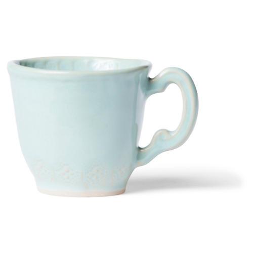 Incanto Stone Lace Mug, Aqua