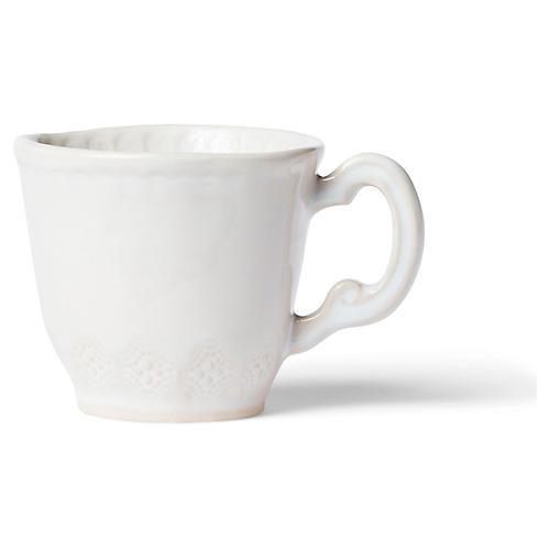 Incanto Stone Lace Mug, Linen