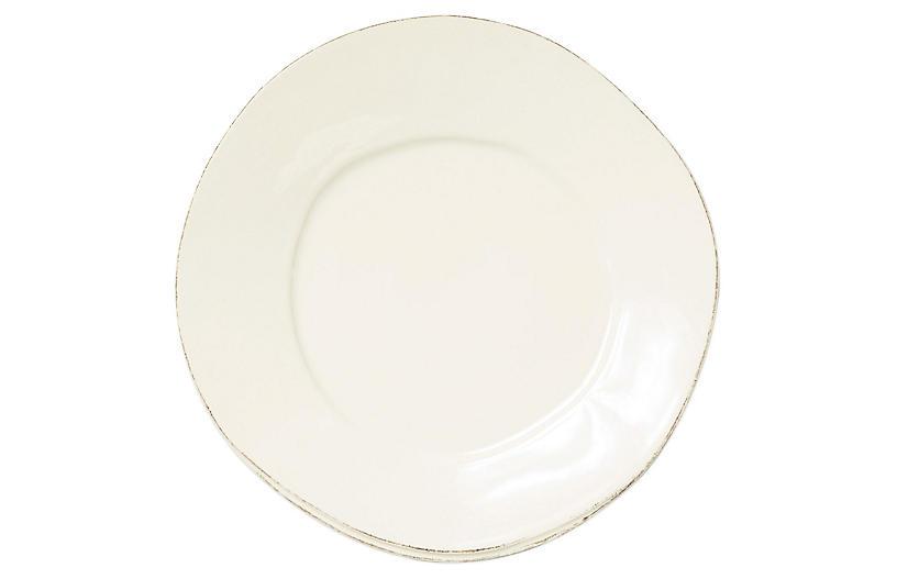Lastra European Dinner Plate, Linen