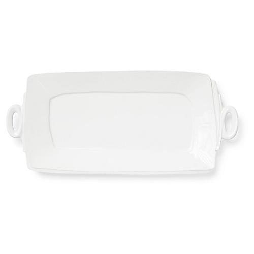 Lastra Rectangular Platter, Linen