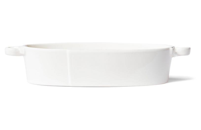 Lastra Oval Baker, Linen