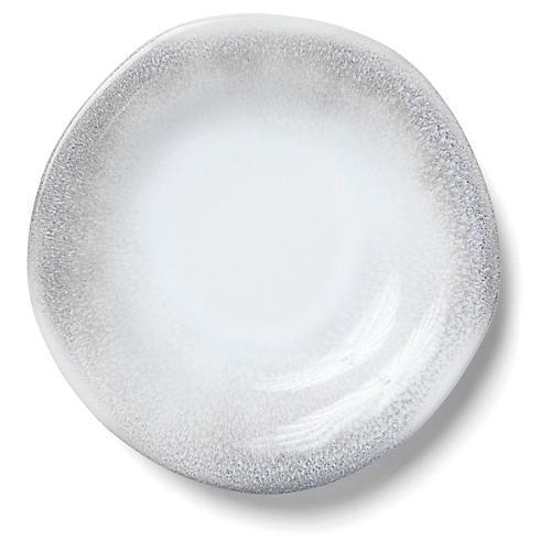 Aurora Salad Plate, Ash