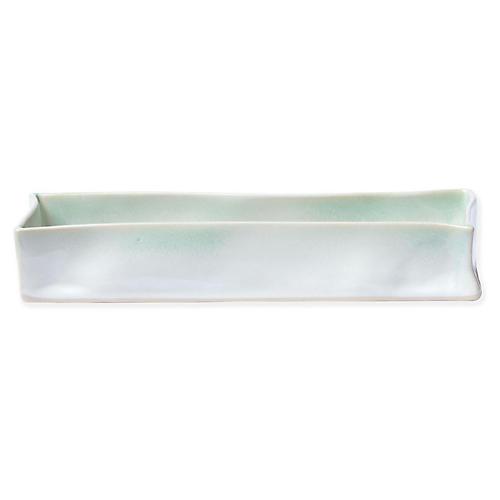 Essentials Rectangular Vanity Tray, Aqua