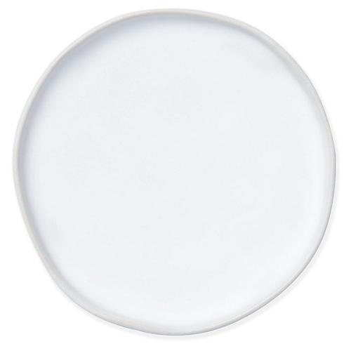 Essentials Round Vanity Tray, Matte White