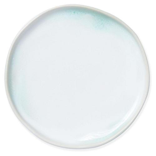 Essentials Round Vanity Tray, Aqua