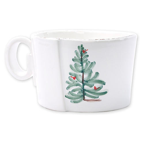 Lastra Holiday Cup, White