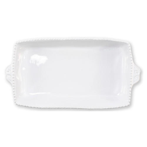Incanto Stone Rectangluar Baking Dish, White