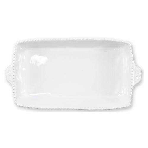 Incanto Stone Rectangluar Baking Dish, White