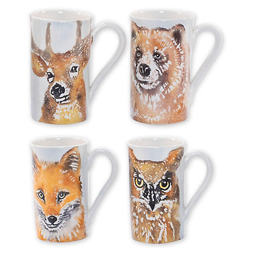 S/4 Into the Woods Mugs, White