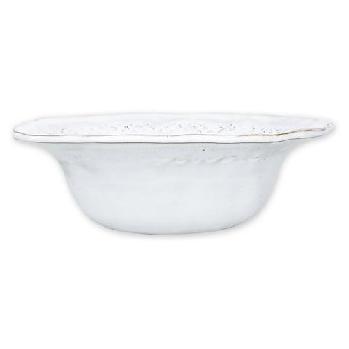 Bellezza Stone Berry Bowl, White