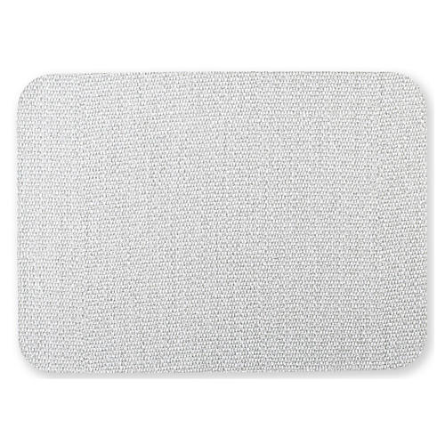 Reversible Place Mat, Blue/Gray