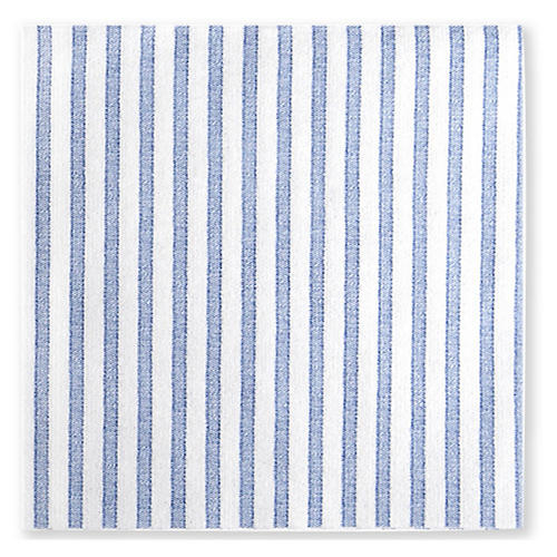 S/50 Papersoft Capri Dinner Napkins, Blue